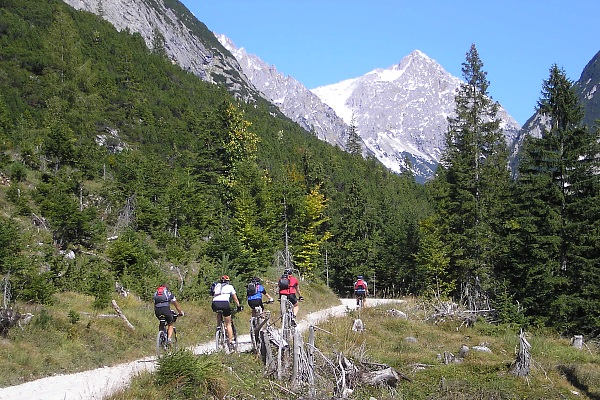 Moutainbiking im Karwendel