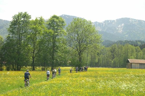 Frühlingstour am Alpenrand