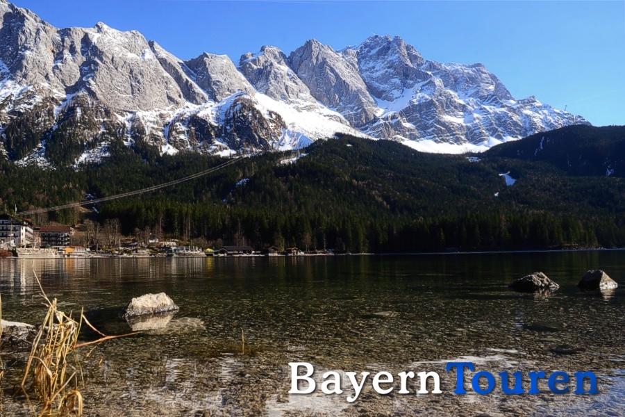 Eibsee & Zugspitze
