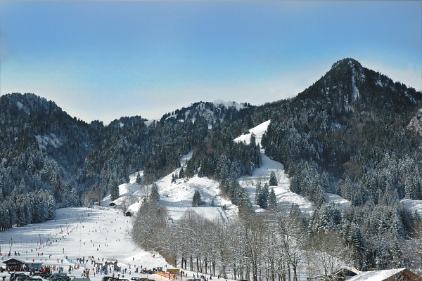 Wintersport am Brauneck