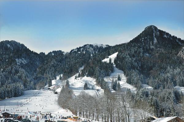 Wintersport am Brauneck