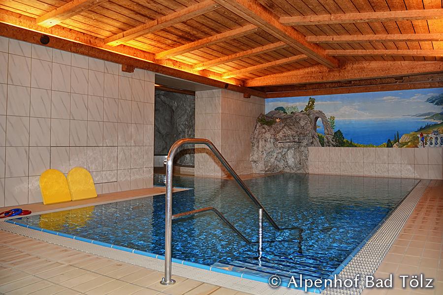 Schwimmbad Raum 1 Schwimmbecken
