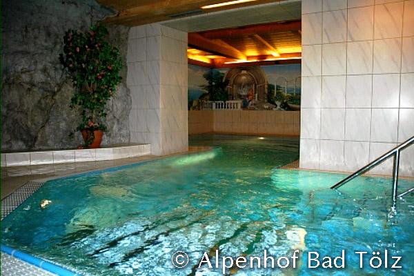 Schwimmbad Raum 2 Massagebecken