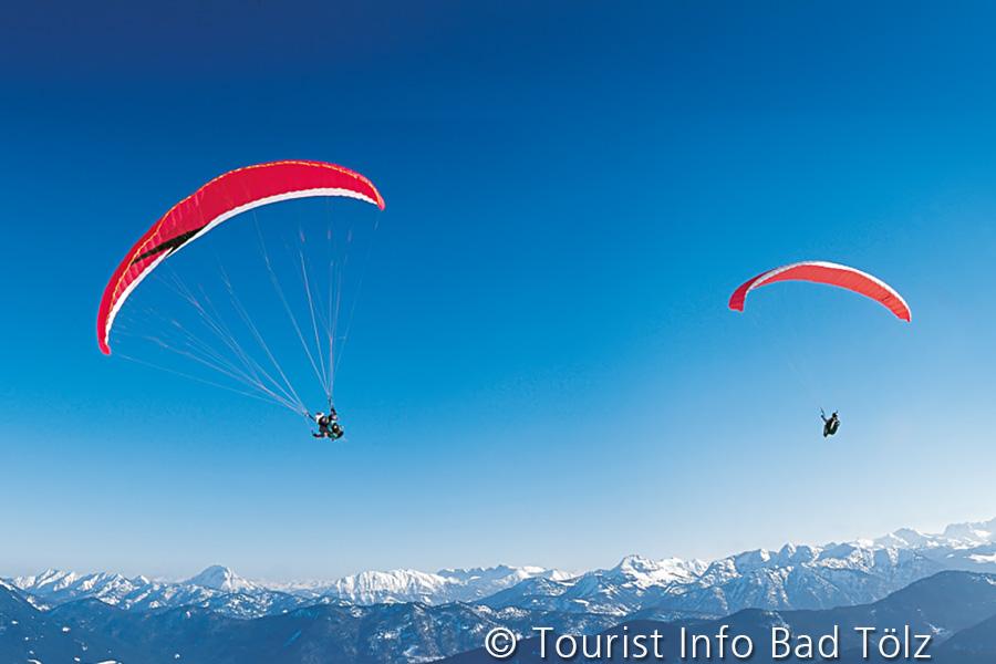 Paragliding am Brauneck / Lenggries