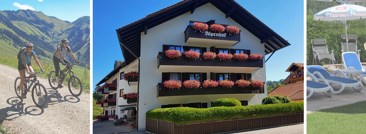 Herzlich Willkommen im Alpenhof